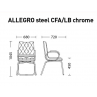ALLEGRO steel CFA LB chrome