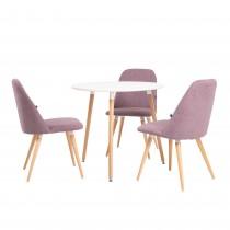 Круглий обідній стіл MODERN WOOD H19 (Модер вуд)