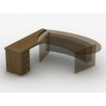 Приставний стіл з тумбою 23СТ37L