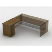 Приставний стіл з тумбою 23СТ42R
