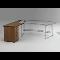 Приставний стіл з тумбою 23СТ35L