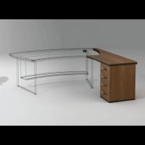 Приставний стіл з тумбою 23СТ36R