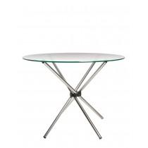 Обідній стіл AQUA GL (Аква) зі скляною поверхнею