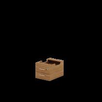 Тумба підвісна на 2 ящики J2.30.02