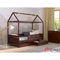 Дерев'яне ліжко Аммі (Масив)