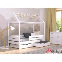 Дерев'яне ліжко Аммі (Щит)