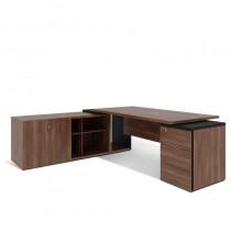 Стіл письмовий, приставний стіл та тумба, лівий G1.21.20