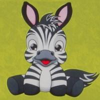 Тканина HAPPY ANIMALS : Zebra